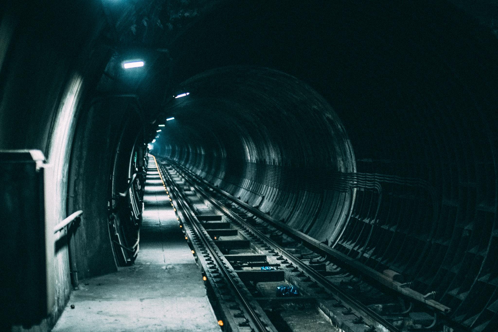 Wir belüften Tunnelbauten
